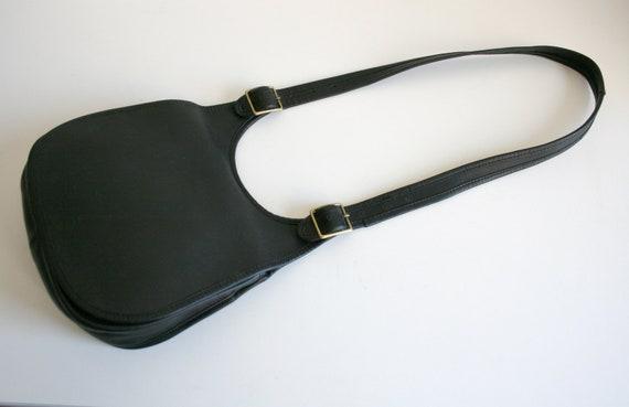 Coach Saddle Bag | Bonnie Cashin NYC | Black Leat… - image 2