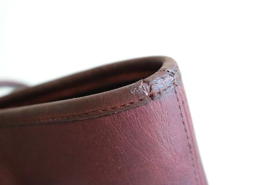 Coach Bonnie Cashin NYC Tote Bag   Burgundy Leath… - image 6