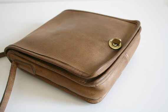 Coach Leatherware Satchel Bag   Bonnie Cashin NYC… - image 4