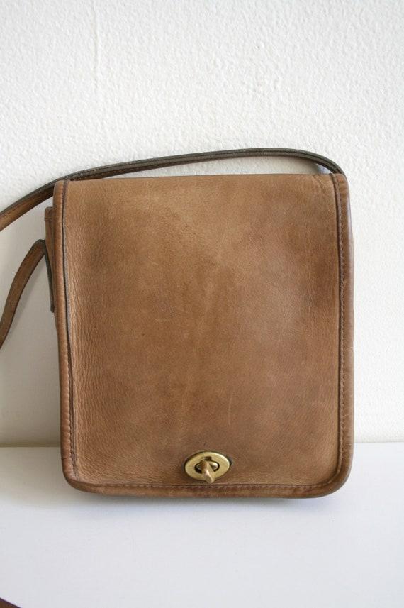 Coach Leatherware Satchel Bag   Bonnie Cashin NYC… - image 2