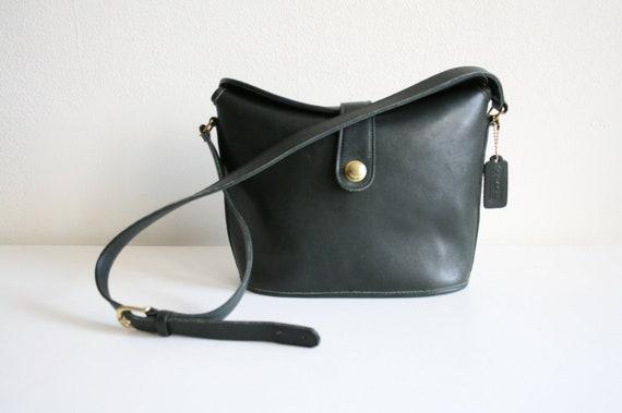 Coach Leatherware Binocular Bag | Forest Green Lea