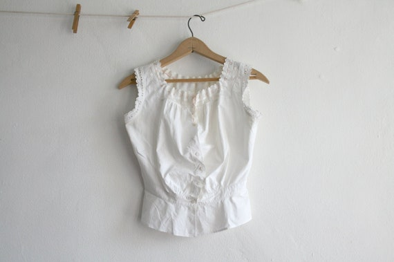 French Eyelet Cotton Camisole
