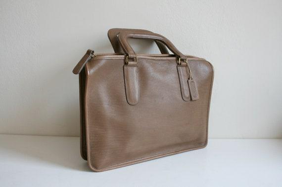 Coach Leatherware Briefcase Bag   Bonnie Cashin N… - image 2