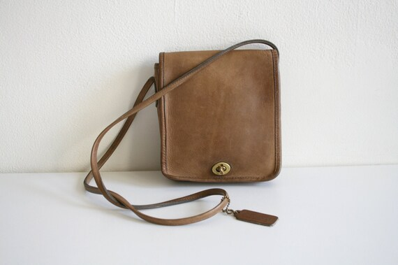 Coach Leatherware Satchel Bag   Bonnie Cashin NYC… - image 1