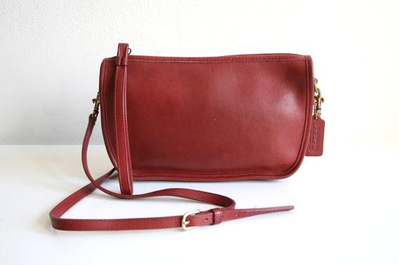 Red Bonnie Cashin Coach Bag