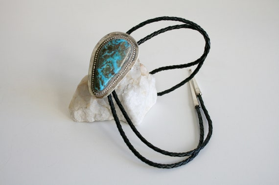 Bennett Old Pawn Turquoise Bolo