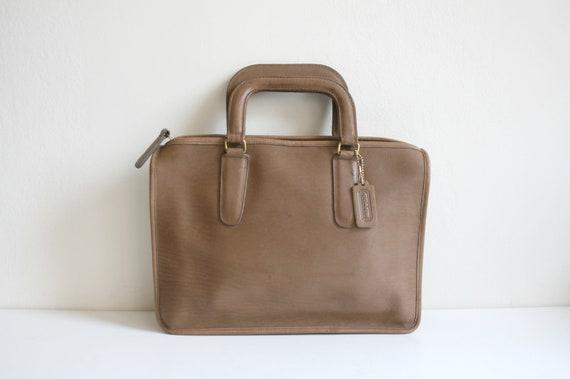 Coach Leatherware Briefcase Bag   Bonnie Cashin N… - image 1
