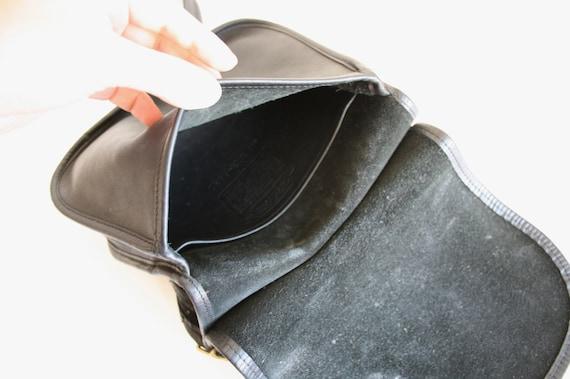 Coach Saddle Bag | Bonnie Cashin NYC | Black Leat… - image 7