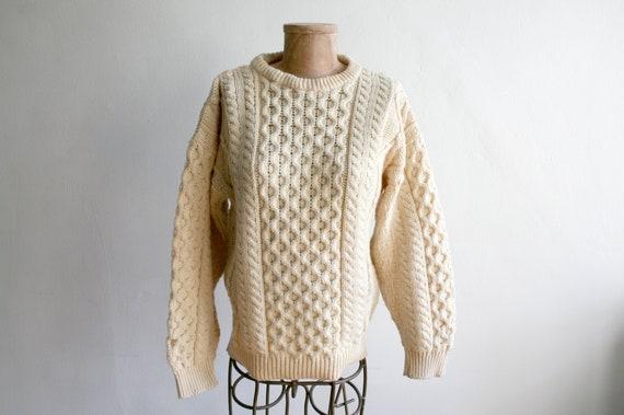 Irish Knit Fisherman Sweater