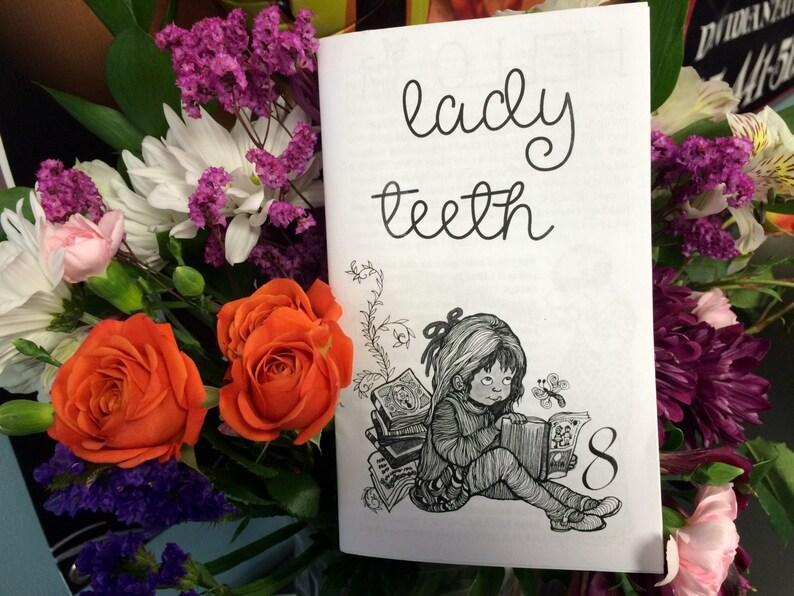lady teeth zine 8 image 0