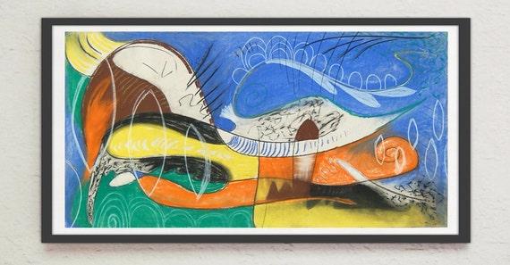 "Drawing - ""Landscape #2"""