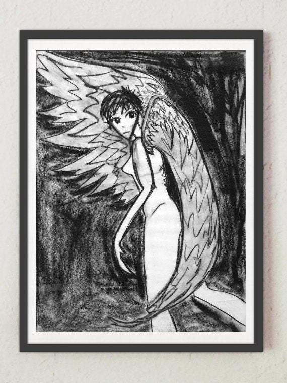 "Drawing - ""Angel"""