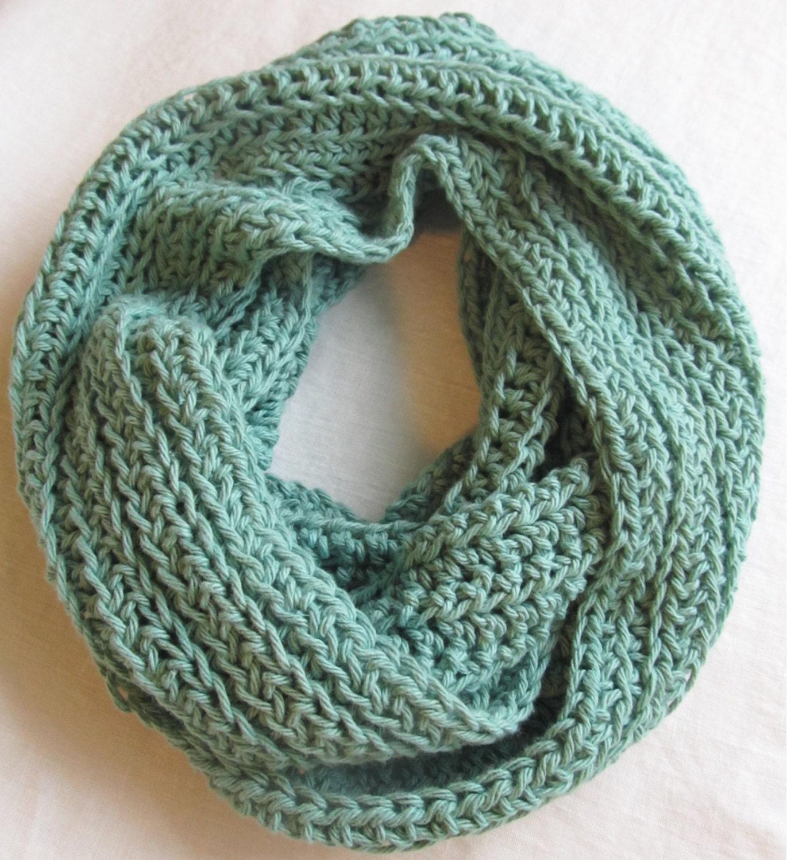 Crochet Scarf Pattern Infinity Scarf Pattern Crochet Fall Etsy