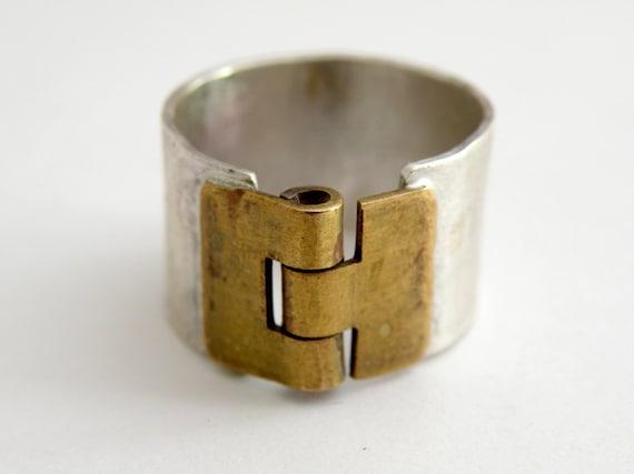 Silver Hinge Ring