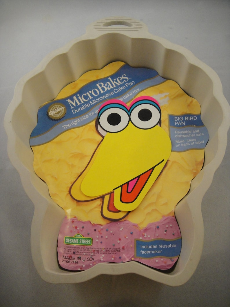 Big Bird Wilton MicroBake Cake Pan