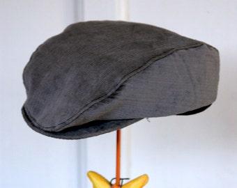 flat cap - golfer hut - newsboy hat (size 1)