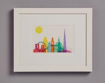 London (overlapping landmarks)