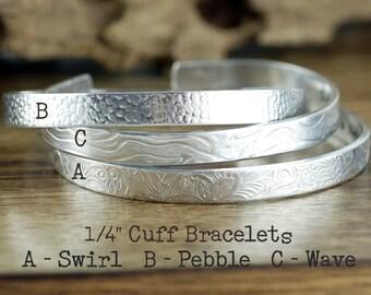 Affirmation Cuffs, Cuff Bracelet, Secret Message Bracelet, Mothers Day Gift, Gift for Mom, Personalized Gift, Mothers Bracelet, Custom Cuffs