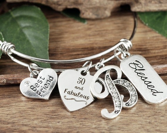 50 and Fabulous Gift, 50 Year old Gift, Gift for 50 Years, Special Birthday Gift, 50th Surprise Gift, Best Friend Gift, Bestie Gift