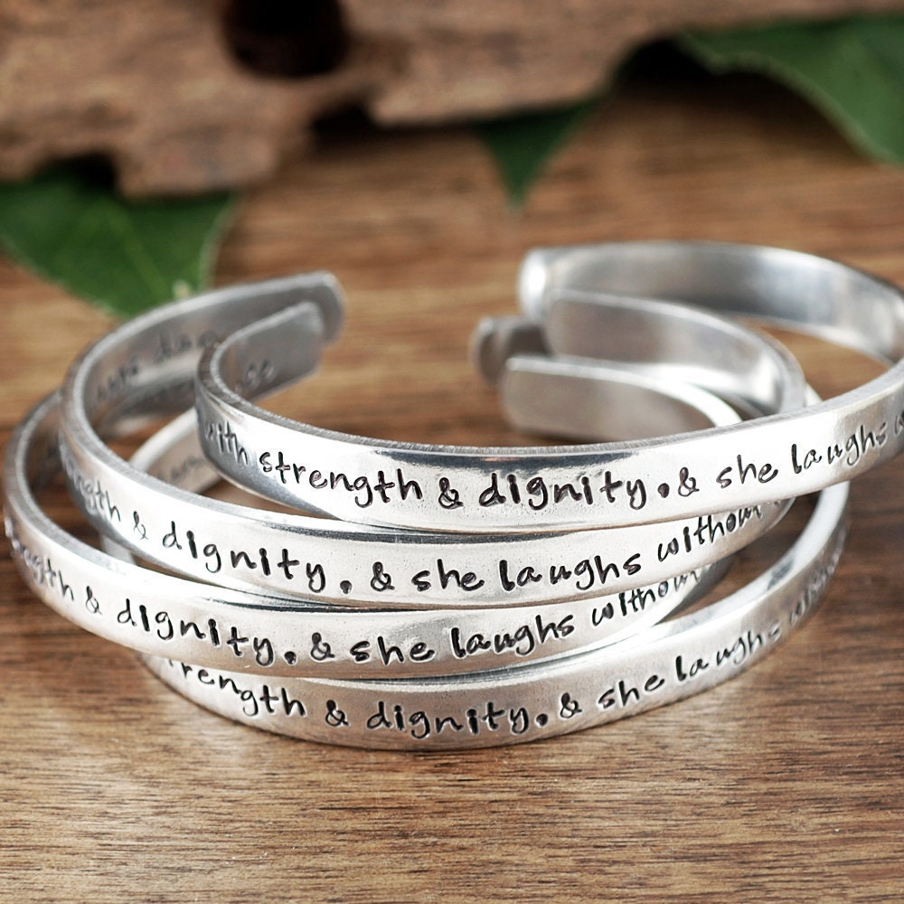 Symbols For Strength And Dignity: She Is Clothed In Strength And Dignity, Bible Verse