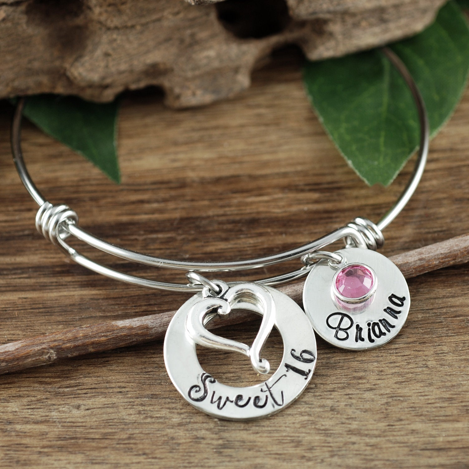 Sweet 16 Gift, Sweet 16 Bracelet, Gift For Teenager, 16th