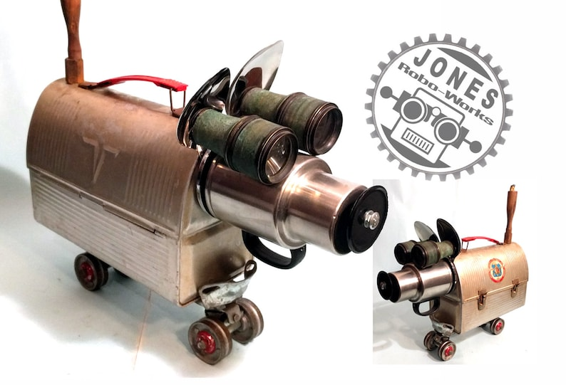 Mighty Thermo Dog Steampunk Dog Sculpture by Jones Robo-Works image 0