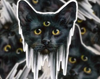 df7021e1877b2 Three eyed cat | Etsy