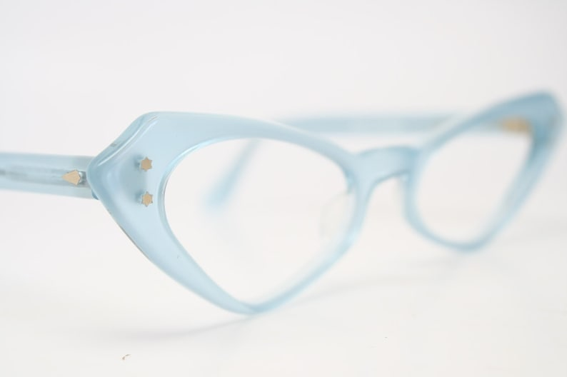 db07d675b14 Blue cat eye glasses vintage cateye eyeglasses frames
