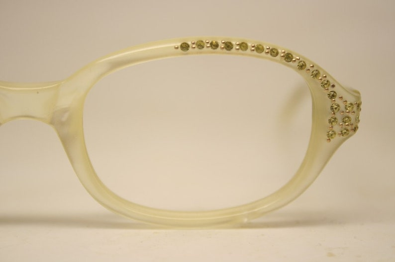 f8906ea319f5 Rhinestone cat eye reading glasses. image 0 .