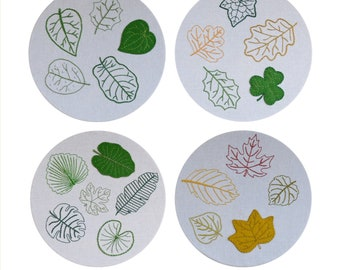 BUNDLE - Leaf Embroidery Collections - Digital PDF Pattern + Video