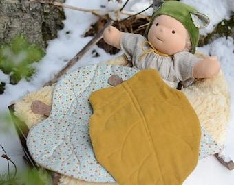 Doll Leaf Blanket - New Zealand Collection - PDF Pattern