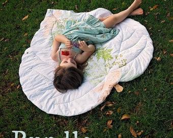 Bundle: Leaf Blanket - New Zealand Collection - Child + Doll PDF Patterns