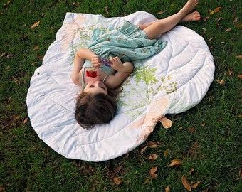 Leaf Blanket - New Zealand Collection - PDF Pattern