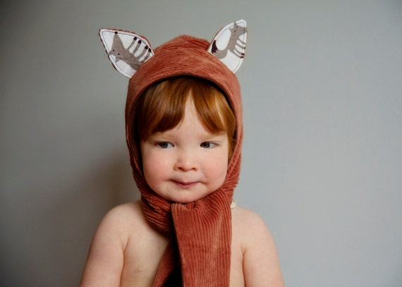 423faed7db1 Animal Hooded Scarf PDF PATTERN Sizes Infant to Adult