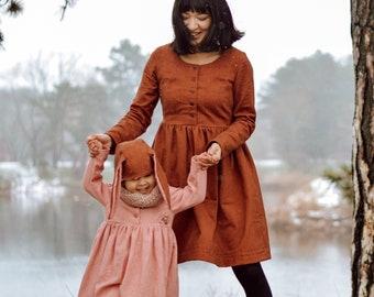 Fable Dress Bundle: Adult + Child - PDF Pattern + Video Class