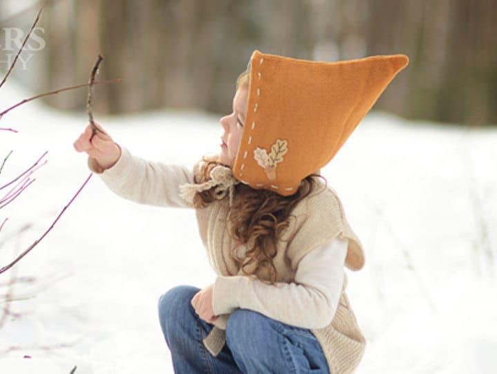 68f7dcae170 Pixie Hat UNISEX PDF Pattern Sizes Infant to age 10