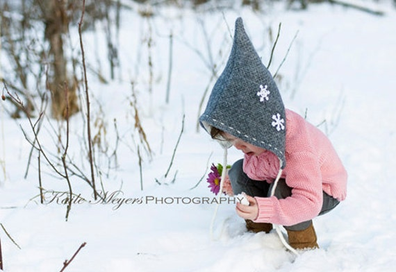 1434330ff94 Pixie Hat Unisex PDF Pattern NEW Sizes Infant to 10 years