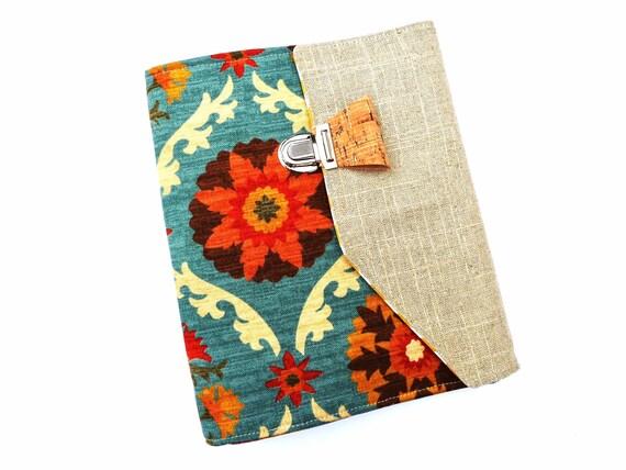 magazine bi fold folder large front pocket with slanted etsy