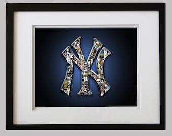 FRAMED New York Yankee Art Print