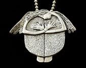 Angel Necklace, Gift For Girlfriend, Guardian Angel, Meditation Angel, Artisan Jewelry, Silver Contemporary Jewelry, Robin Wade Jewelry,2967