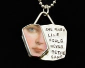 Ceramic Jewelry, Inspirational Jewelry, Gift For Her, Sterling Silver & Ceramic, Gift For Mom, Meaningful Jewelry, Robin Wade Jewelry, 2976