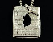 Letting Go Necklace, Breaking Free, Gift For Women, Inspirational Jewelry, Rumi, Unusual Jewelry, Artisan Jewelry, Robin Wade Jewelry, 3047