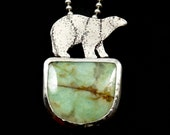 Bear Necklace, Best Selling Items, Polar Bear, Nature Jewelry, Gift For Her, Gift Inspired By Nature, Spirit Animal, Robin Wade Jewelry,2943