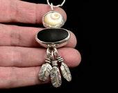 Beach Necklace, Ocean Jewelry, Gift For Women, Feather Necklace For Women, Nature Necklace, Gift For Girlfriend, Robin Wade Jewelry, 2809