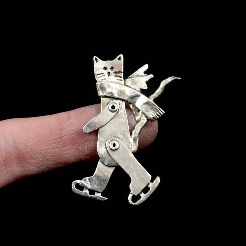Cat Jewelry Winter Jewelry Cat Jewelry For Women Cat Lover image 0
