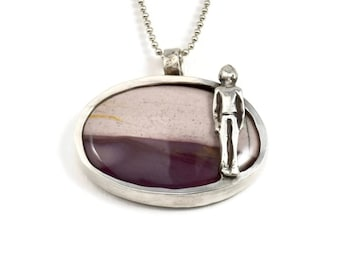 Inspirational Jewelry For Women, Sterling Journey Necklace For Her, Sterling Loss Necklace, Robin Wade Jewelry, Mia Is On A Journey, 2555