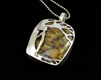 Nature Jewelry, Gift For Women, Nature, Tree Jewelry, Inspirational Jewelry, Gift For Mom, Sterling Silver Jewelry, Robin Wade Jewelry, 2630