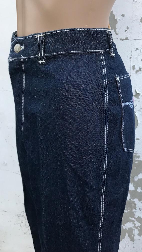 Disco 70s Jeans Glam Rick Disco Pants 70s Clothin… - image 6