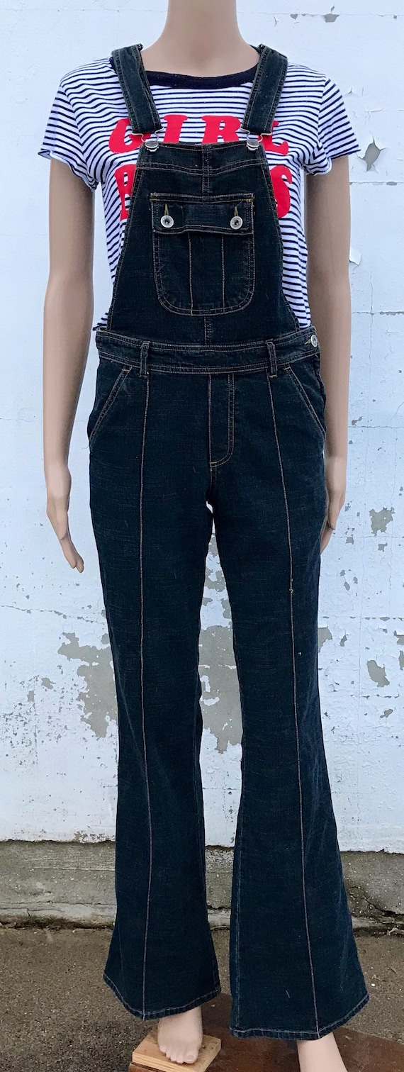 Overalls Womens Denim Overalls Women 90s Clothing