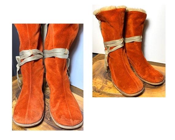 Leather Boots Camper Boots Womens Boots 90s Womens